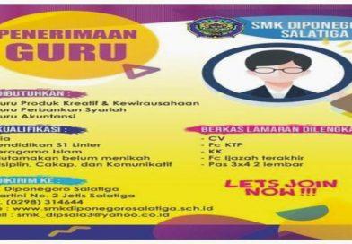 PENERIMAAN GURU SMK DIPONEGORO