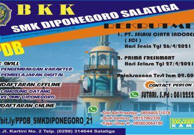 BKK SMK Diponegoro Salatiga (Rekrutmen)